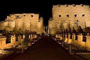 Sound & Licht Show am Karnak Tempel