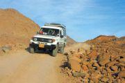 Wüstensafari mit dem Geländewagen